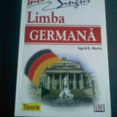 Sigrid Martin Invata singur Limba Germana editura Teora - Curs Limba Germana