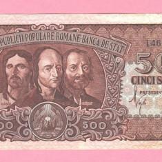 500 lei 1949 perfect UNC - greu de gasit - Bancnota romaneasca