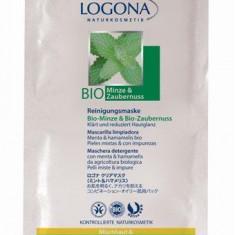 Masca de curatare cu menta si hamamelis BIO pentru ten mixt/gras Logona, LifeCare - Lotiune Tonica