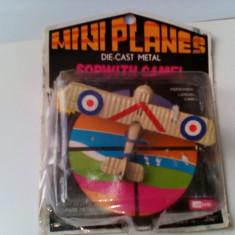Bnk jc Avion Sopwith Camel - Miniplanes - Mandarin - Macheta Aeromodel Alta