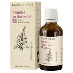 Tinctura De Pufulita Cu Flori Mici 50ml, DACIA PLANT - Produs tratarea prostatei