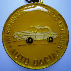 I.256 BRELOC ROMANIA AUTO AUTOTURISM DACIA 1300 35mm - Breloc Barbati