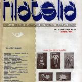 Reviste Filatelia 1984 (nr. 1 - 12)