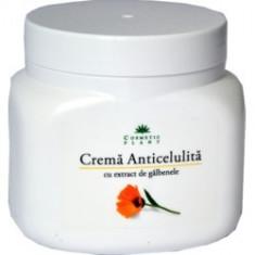 Crema Anticelulita cu Galbenele, 500ml COSMETIC PLANT - Crema Anticelulitica