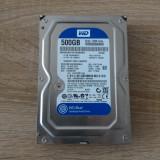 Harddisk Western Digital Blue, 500 GB, 16 MB cache, 500-999 GB, 7200, SATA 3