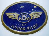 I.068 INSIGNA OLANDA AVIATIE KLM JUNIOR PILOT 38mm, Europa