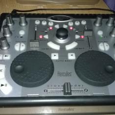 CONSOLA DJ HERCULES DJ CONTROL MP3 PERFECT FUNCTIONALA+CABLU DE DATE - Mixere DJ