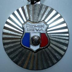 I.267 BRELOC ROMANIA SPORT CLUB FOTBAL REMIN DEVA 30mm - Breloc Barbati