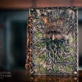 Agendă / Jurnal cu coperți din rășină Copacul magic