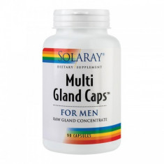Multi Gland Caps For Men 90cps, SECOM - Produs tratarea prostatei