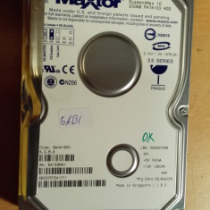 HDD PC Maxtor 200 GB IDE (Gabi) - Hard Disk Maxtor, 200-499 GB, Rotatii: 7200