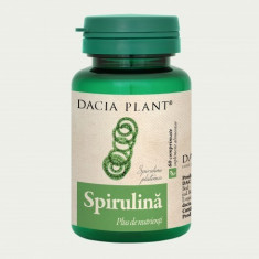 Spirulina 60Cpr, DACIA PLANT - Supliment sport