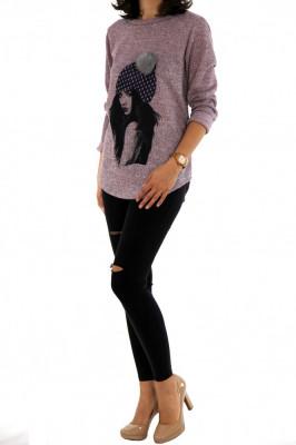 Bluza fashion ● calitate garantata ● COLECTIE NOUA 1130 foto