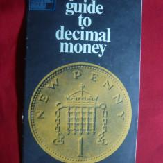 Tabel echivalare Lira Sterlina Nou/Vechi +Ghid Monede zecimale a Lirei - Cartonas de colectie