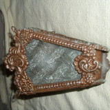 LAMPA DE GRADINA   din aluminiu,  foarte veche