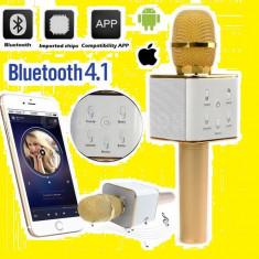 Microfon Wireless sistem Karaoke Profesional Cu Boxa Si Bluetooth 2017