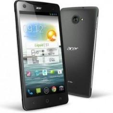 Telefon Acer liquid S1 - Telefon mobil Acer, Negru, 1GB, Neblocat, Quad core, 2 GB