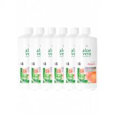 Set de 6 Aloe Vera Drinking Gel Piersica, LR - Conserve