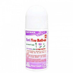 Deo Roll-On Cu Verbina 50ml, FAVISAN - Antiperspirant
