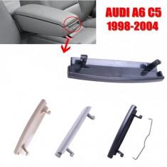 Kit reparatie buton capac cotiera Audi A6 C5, A4 B5 1998-2002