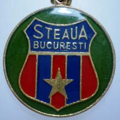 I.266 BRELOC ROMANIA SPORT CLUB FOTBAL STEAUA BUCURESTI 28mm - Breloc Barbati