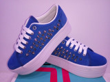 Adidasi Jeffrey Campbell piele naturala  3 modele. Livrare gratuita., 35.5, 37, 38, Bleu, Fuchsia, Rosu, Dolce & Gabbana