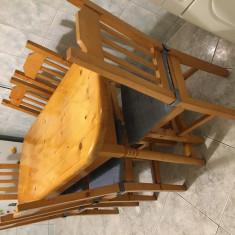 Masa de bucatarie +6 scaune - Masa bucatarie