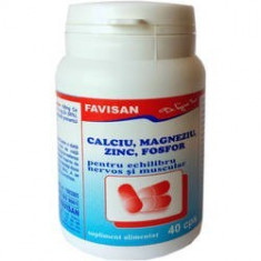 Ca Mg Zn Fosfor 40cps, FAVISAN