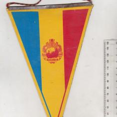 bnk div Fanion Romania - Finlanda - Timisoara 1985