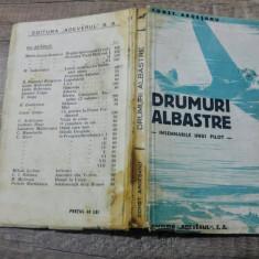 Drumuri albastre (insemnarile unui pilot) - Constantin Argesanu - Carte Editie princeps