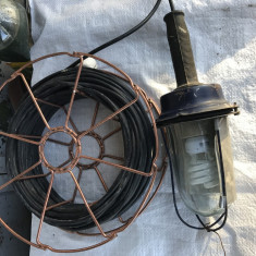 Lampa portabila 25m