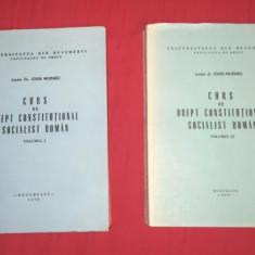 Ioan Muraru CURS DE DREPT CONSTITUTIONAL SOCIALIST ROMAN 2 volume