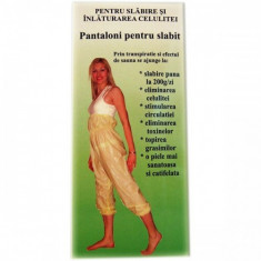 PANTALONI PENTRU SLABIT, Biomed - Produs de Slabit