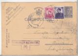bnk fil Carte postala circulata 1945 - marca fixa, cenzura Bucuresti