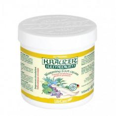 Crema incalzitoare pentru picioare cu plante BIO Kräuter, LifeCare - Crema picioare