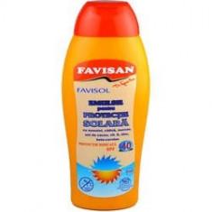 Favisol Emulsie Plaja Pentru Protectie Solara SPF40 250ml, FAVISAN