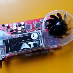 240B.Placa Video HIS Radeon 9600, interfata AGP, 128MB DDR-128Bit, VGA-DVI - Placa video PC ATI Technologies, Ati
