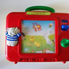 Music TV Simba, Cutie muzicala cu imagine care se misca, pt bebelusi,