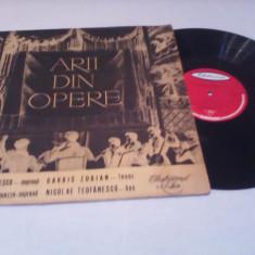 DISC VINIL VARIOUS-ARII DIN OPERE RARITATE!!!!!ECE 018 STARE FOARTE BUNA - Muzica Opera