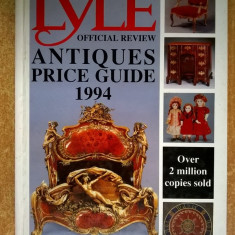 Tony Curtis - The Lyle Official Review Antiques Price Guide 1994