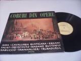 DISC VINIL CORUL RADIOTELEVIZIUNII-CORURI DIN OPERE AIDA/CAVALLERIA RUSTICANA...