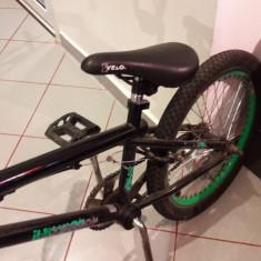 Bicicleta BMX Nespecificat, 15 inch, 12.5 inch, Numar viteze: 1