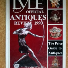 Tony Curtis - The Lyle Official Antiques Review 1990