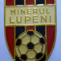 I.245 BRELOC ROMANIA SPORT CLUB FOTBAL MINERUL LUPENI h34mm - Breloc Barbati