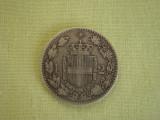 2 lire 1882 - ITALIA, Europa, Argint