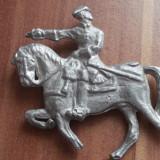 Figurina din plumb - calaret, soldat