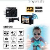 Camera video actiune sport Storex X'TREM CUHDW5050 4K, WiFi, Waterproof