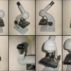 Microscop IOR Bucuresti metal ocular 10x.