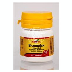 B Complex + Vitamina C Walmark 30tb Cod: 3192