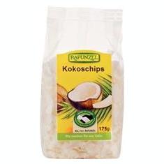 Nuca de Cocos Bio Chipsuri Rapunzel 175gr Cod: 314365 - Snack